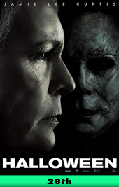 halloween 2018 movie poster VOD