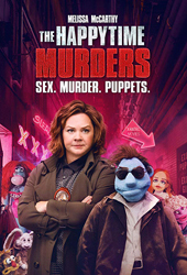 happy time murders movie poster VOD