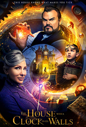 house with a clock in its walls movie poster VOD
