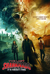 the last sharknado movie poster VOD
