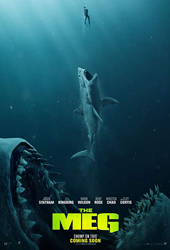 the meg movie poster VOD