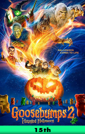 goosebumps 2 movie poster VOD