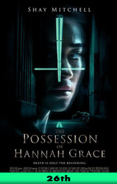 the posession of hannah grace movie poster VOD
