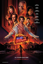 bad times at the el royale movie poster VOD