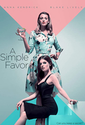 a simple favor movie poster VOD
