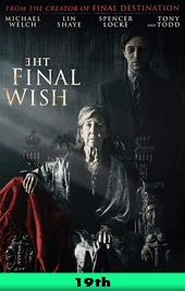the final wish movie poster vod