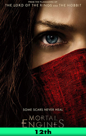 mortal engines movie poster vod