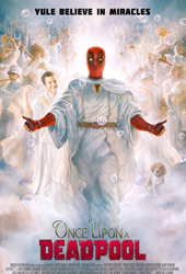 once upon a deadpool movie poster vod