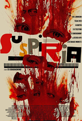 suspriria movie poster vod