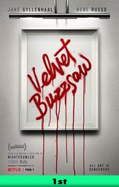 velvet buzzsaw movie poster VOD