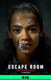 escape room movie poster vod