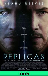 replicas movie poster vod