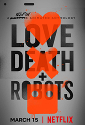 love death and robots movie poster vod