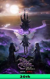 the dark crystal age of resistance netflix movie poster vod