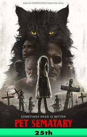pet sematary movie poster vod