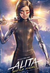 alita battle angel movie poster vod