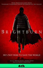 brightburn movie poster vod