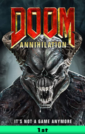 doom annihilation movie poster vod