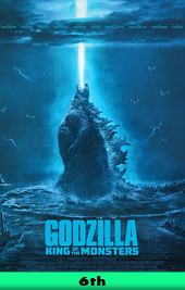 godzilla king of the mosters movie poster vod