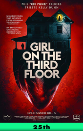 girl on the third floor movie poster vod