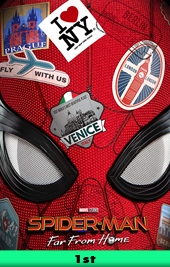 spider-man far from home movie poster vod