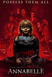 annabelle comes home movie poster vod