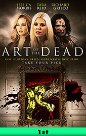 art of the dead movie poster vod