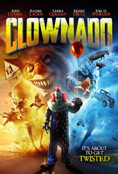 clownado movie poster vod