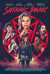 satanic panic movie poster vod