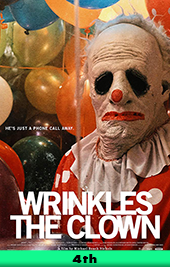 wrinkles the clown movie poster vod