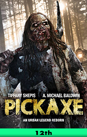 pickaxe movie poster vod