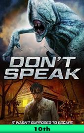 dont speak movie poster vod