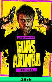 guns akimbo movie poster vod