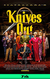 knives out movie poster vod