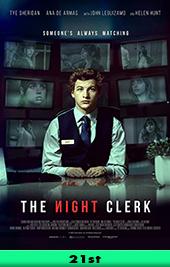 the night clerk movie poster vod