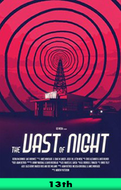 the vast of the night movie poster vod