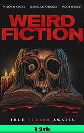 weird fiction movie poster vod