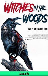 witches in the woods movie poster vod
