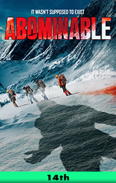 abominable movie poster poster vod