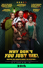 why dont you just die movie poster vod