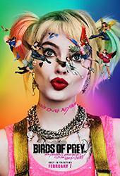 birds of prey movie poster vod