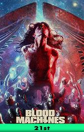 blood machine movie poster vod shudder