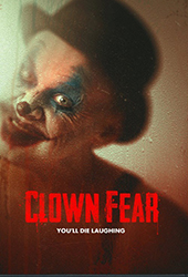 clown fear movie poster vod