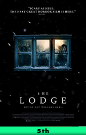 the lodge movie poster vod