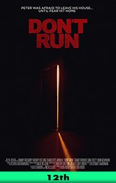dont run movie poster vod