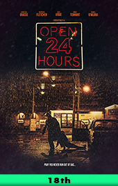 open 24 hours movie poster vod