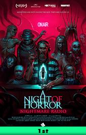 a night of horror nightmare radio movie poster vod