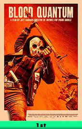 blood quantum movie poster vod