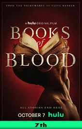 books of blood movie poster vod