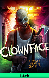 clownface movie poster vod